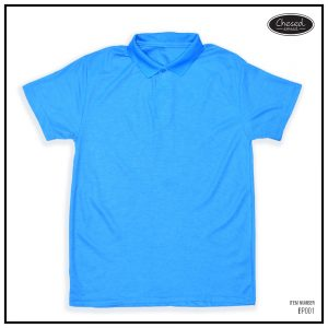 <b>BASIC POLO SHIRT</b> <br>BP001 | Blue