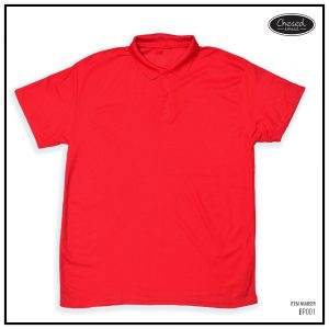 <b>BASIC POLO SHIRT</b> <br>BP001   Red