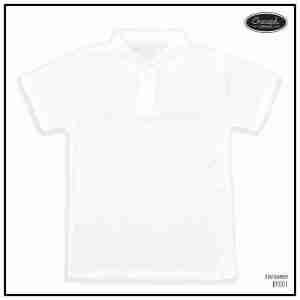 <b>BASIC POLO SHIRT</b> <br>BP001   White
