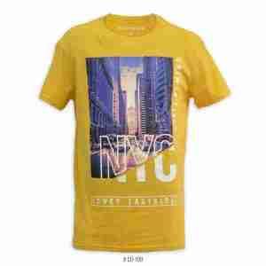 <b>NYC Lower Eastside Graphic T-Shirt</b> <br>CO-109 | Yellow