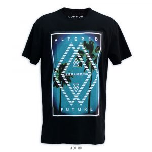 <b>Altered Future Graphic T-Shirt</b> <br>CO-110 | Black