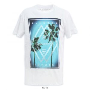 <b>Altered Future Graphic T-Shirt</b> <br>CO-110 | White
