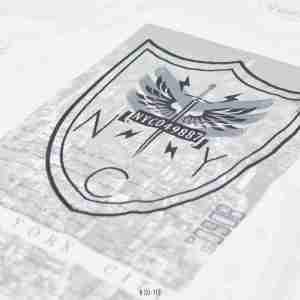 <b>New York Shield Graphic T-Shirt</b> <br>CO-113 | White