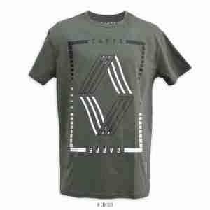 <b>Graphic Diamond Shape T-Shirt </b> <br>CO-123 | Green